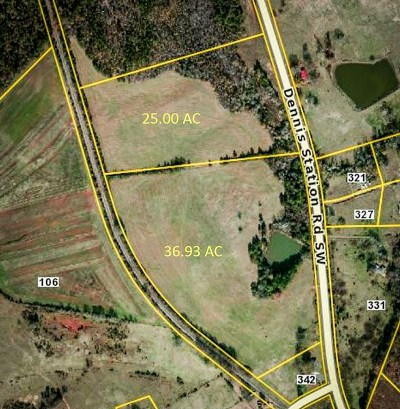 Putnam County, Baldwin County Residential Lots & Land For Sale: Dennis Station