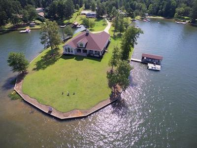 Putnam County, Baldwin County Waterfront For Sale: 208 Arrowhead Drive