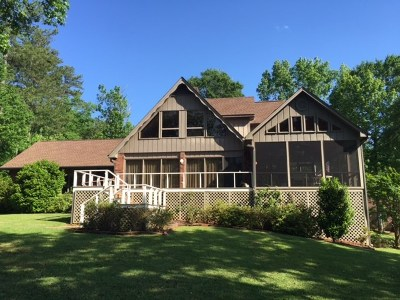 Putnam County, Baldwin County Waterfront For Sale: 139 Woodhaven Drive SE