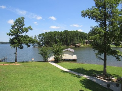 Waterfront For Sale: 2266 Oconee Drive