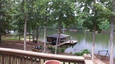 Putnam County, Baldwin County Waterfront For Sale: 341 Bluegill Road