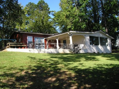 Putnam County, Baldwin County Waterfront For Sale: 307 Sinclair Marina Rd.