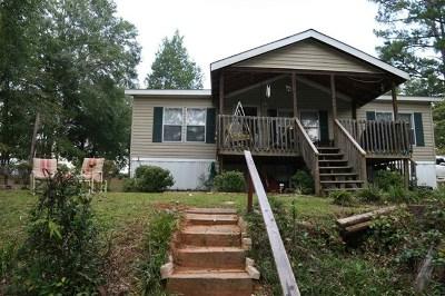 Putnam County, Baldwin County Waterfront For Sale: 296 Burtom Road