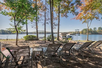 Putnam County, Baldwin County Waterfront For Sale: 142 Rock Springs Road