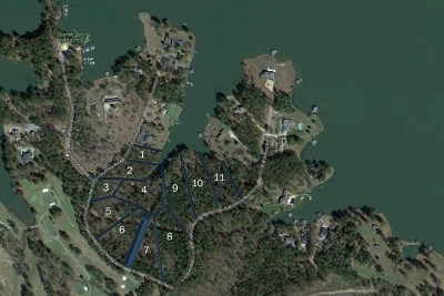 Milledgeville GA Waterfront For Sale: $150,000