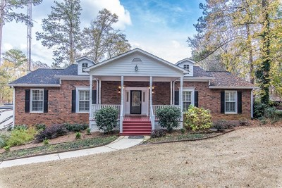 Milledgeville GA Waterfront For Sale: $625,000
