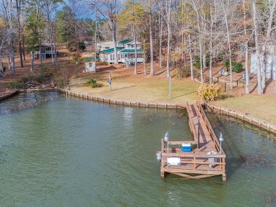 Waterfront For Sale: 1031 Crooked Creek Road
