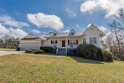 Haddock, Milledgeville, Sparta Single Family Home For Sale: 155 Hudson Drive