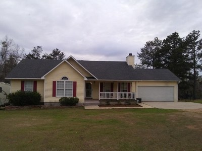Haddock, Milledgeville, Sparta Single Family Home For Sale: 188 B Forest Hill Rd
