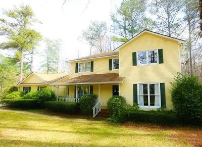 Haddock, Milledgeville, Sparta Single Family Home For Sale: 3783 Sussex Drive