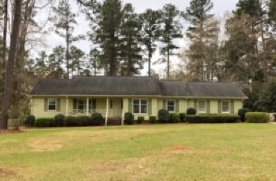 Haddock, Milledgeville, Sparta Single Family Home For Sale: 3631 Sussex Drive