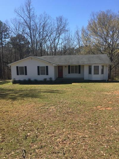Haddock, Milledgeville, Sparta Single Family Home For Sale: 168 Hidden Hills Drive