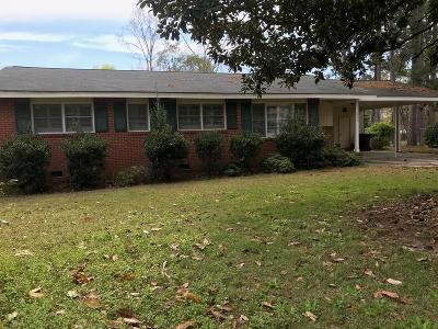 Milledgeville Single Family Home For Sale: 1704 Cedarwood