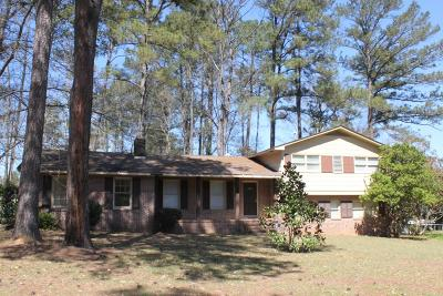 Haddock, Milledgeville, Sparta Single Family Home For Sale: 1665 Cardinal Road, NE