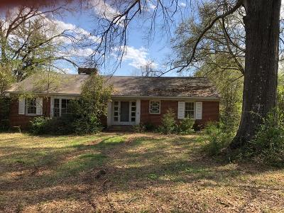 Haddock, Milledgeville, Sparta Single Family Home For Sale: 620 W Charlton Street