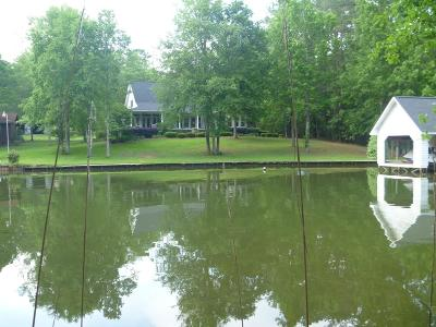 Milledgeville GA Waterfront For Sale: $75,000
