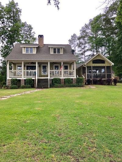 Milledgeville GA Waterfront For Sale: $489,900