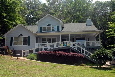 Milledgeville GA Waterfront Under Contract: $399,900