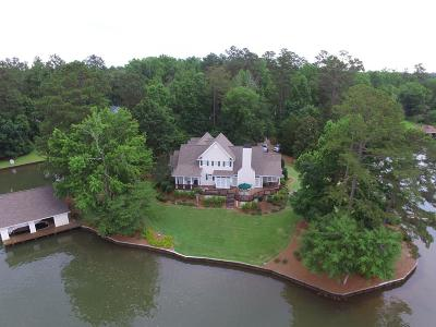 Milledgeville GA Waterfront For Sale: $724,900