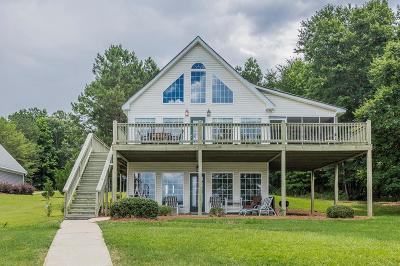Sparta GA Waterfront For Sale: $349,000