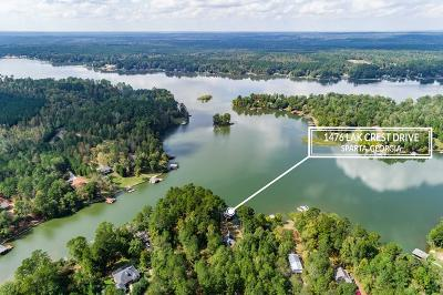 Waterfront For Sale: 1476 Lake Crest Drive