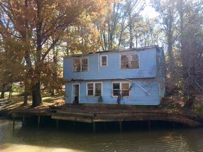 Waterfront For Sale: 117 Twilight Shores Road