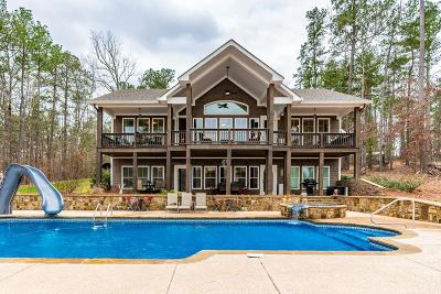 Milledgeville GA Waterfront For Sale: $749,000