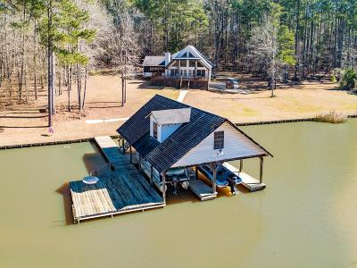 Sparta GA Waterfront Under Contract: $383,000