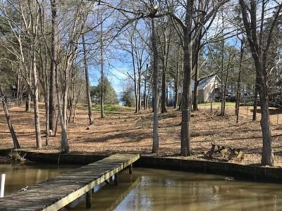 Eatonton GA Waterfront For Sale: $115,000