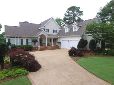 Milledgeville GA Waterfront For Sale: $699,500