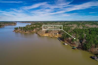 Sparta GA Waterfront For Sale: $498,680
