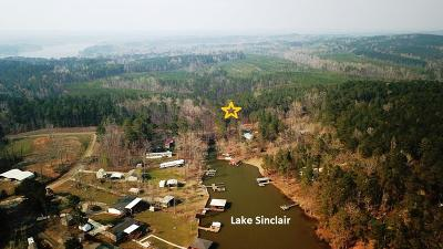 Waterfront For Sale: Lot 17 SE Lake Sinclair Drive