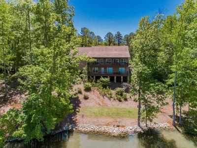 Sparta GA Waterfront For Sale: $499,000