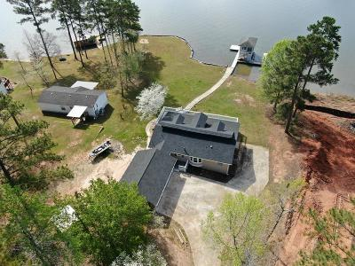 Sparta GA Waterfront For Sale: $429,000