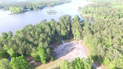 Sparta GA Waterfront For Sale: $115,500