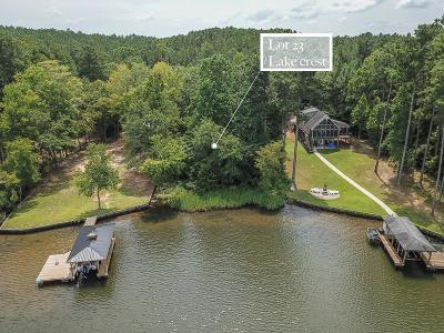 Waterfront For Sale: Lot 23 Lake Crest Drive