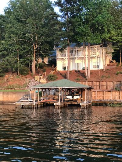 Sparta GA Waterfront For Sale: $389,000