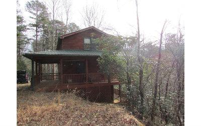 Ellijay Single Family Home For Sale: 458 Talking Water Way