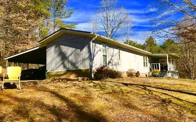 Cherokee County Single Family Home For Sale: 876 Marion Adams Road