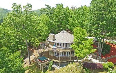 Hiawassee Single Family Home For Sale: 1060 Fox Fire Lane