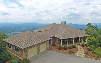 Hayesville Single Family Home For Sale: 1212 East Double Knobs Dr