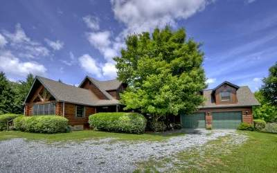 Mineral Bluff Single Family Home For Sale: 415 Bailey Farms Lane
