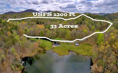 Blue Ridge Residential Lots & Land For Sale: 33 Ac Doublehead Gap Road