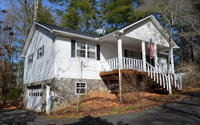 Blairsville Single Family Home For Sale: 255 The Landing