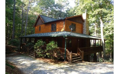 Mineral Bluff Single Family Home For Sale: 80 N Blackberry