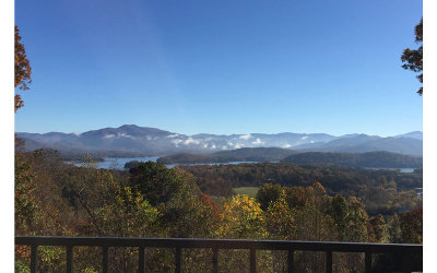 Hayesville Single Family Home For Sale: 389 Chatuge Shores Ovrlk