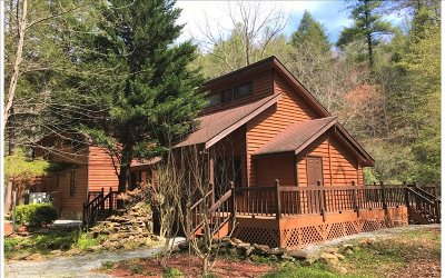 Ellijay Single Family Home For Sale: 5 Whitewater Lane