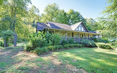 Hayesville Single Family Home For Sale: 100 Tusquittee Meadows