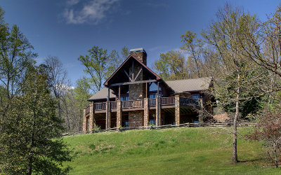 Hiawassee Single Family Home For Sale: 201 High Country Way