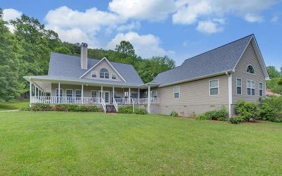Hiawassee Single Family Home For Sale: 4687 Arrowhead Road